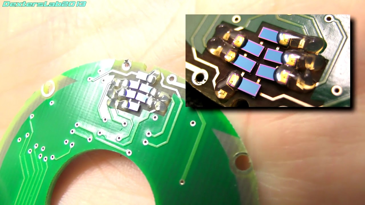 DL133 Teardown: Precision Renco Rotary Quadrature Encoder
