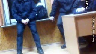 Начальник полиции насилует патрульных. Скрытая камера