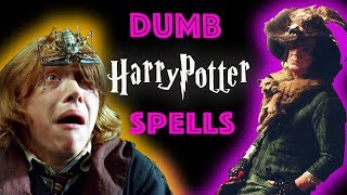 DUMBEST Harry Potter Spells You NEED to cast!
