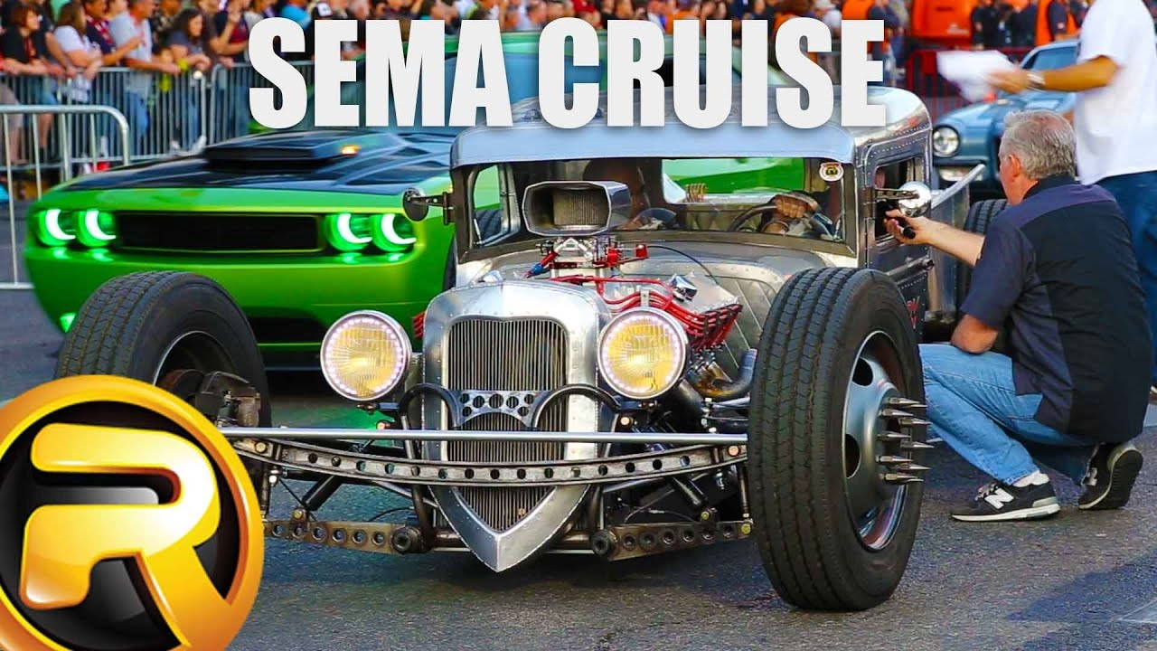 leaving sema show 1 hour of custom cars youtube. Black Bedroom Furniture Sets. Home Design Ideas
