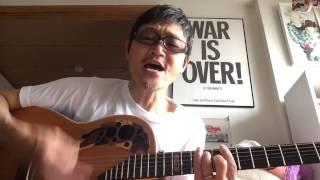 歌いました。