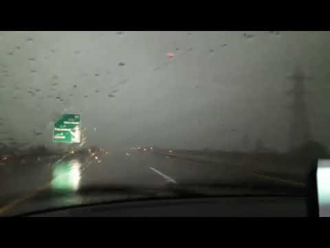 Car Driving in rain WhatsApp status