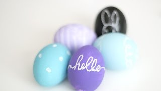 Decorate An Easter Egg With Chalk - Diy Crafts - Guidecentral