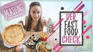 DER FAST FOOD CHECK - Was macht euch dick? - Mukbang