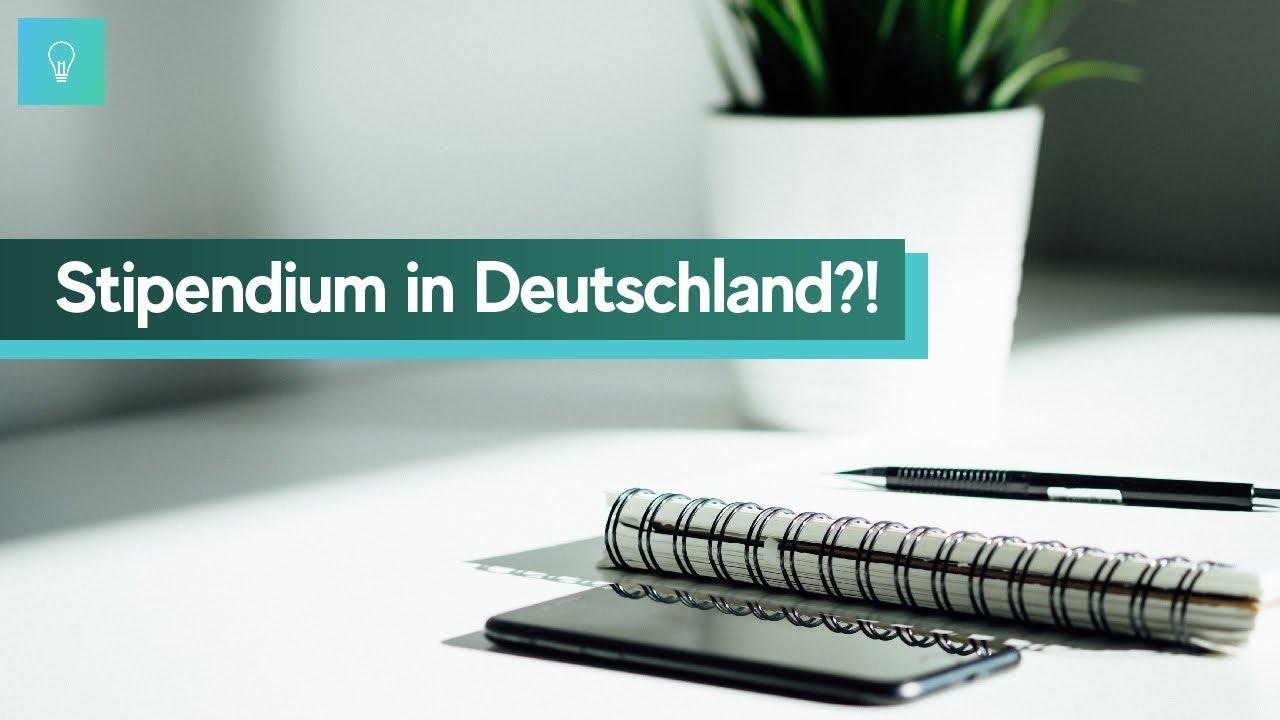 Deutschland Stipendium Bewerbung