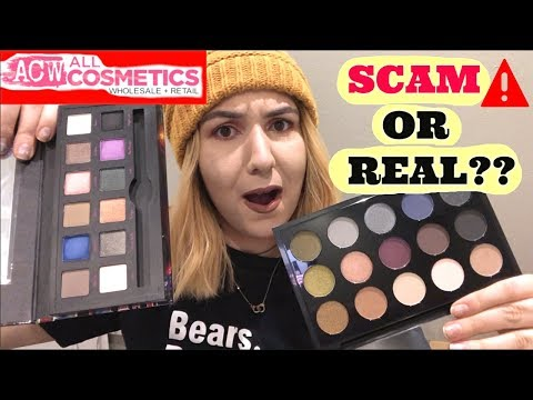 Discounted makeup SCAM OR REAL? All Cosmetics Wholesale