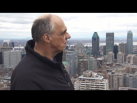 I do not want to miss one day: Man climbing Mount Royal