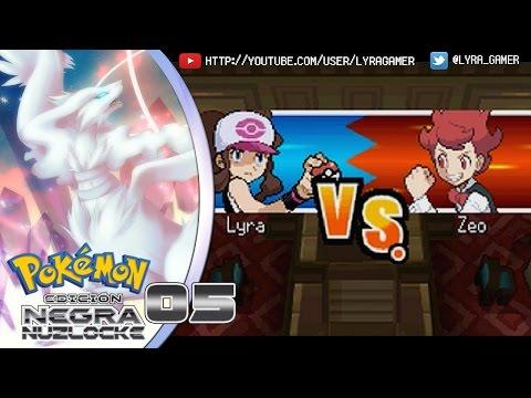 Pokémon Negro NUZLOCKE #05 - ¡Counter team en el gimnasio y pedos de Munna!