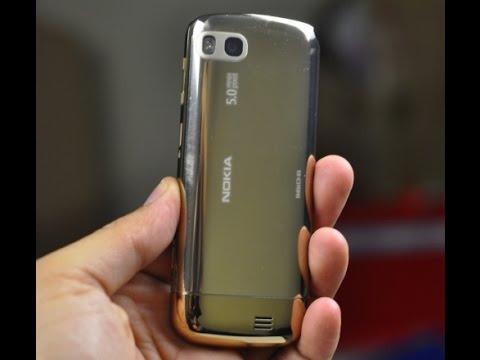 Vỏ Nokia c3 01 gold chính hãng - Rồng mobile thay thế vỏ điện thoại c3 01 gold