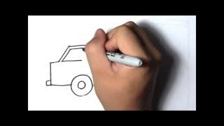 How to Draw - Van