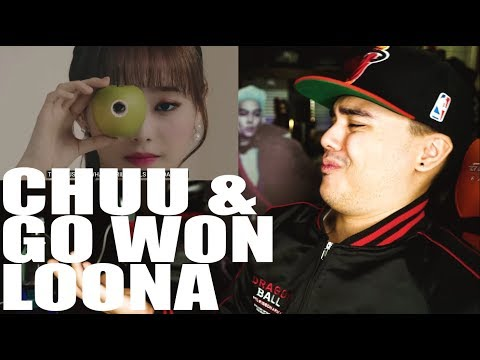 """LOONA(Chuu & Go Won) - """"Heart Attack"""" And """"One&Only"""" MV Reaction"""
