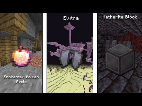Minecraft And Its Hardest Items To Get