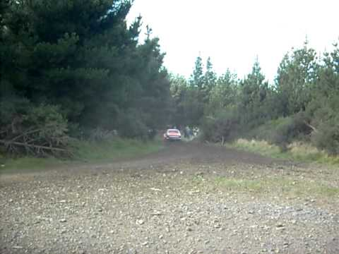 2011 Otago Rally Mark Laughton V8 Avenger