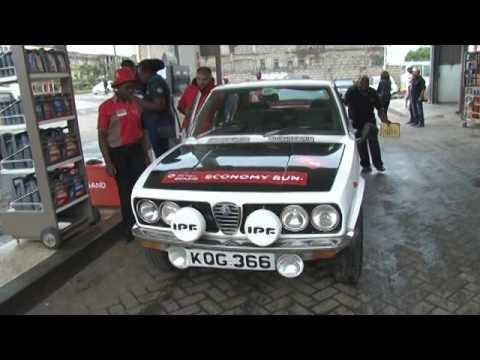 Alfa Romeo Owners Club Kenya - Total Quartz Economy Run 2016