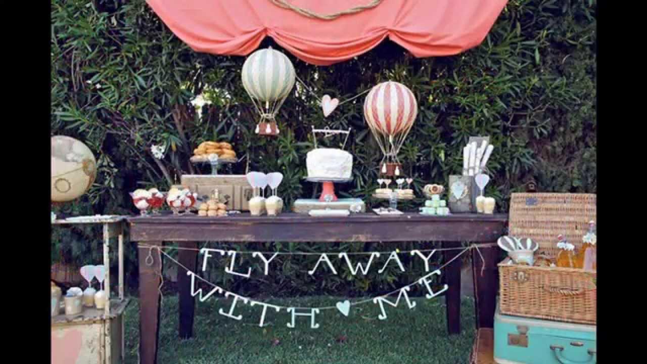 Couples Wedding Shower Theme Ideas