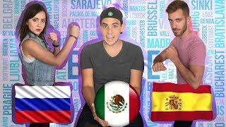 Español Mexicano vs Español Castellano | MEXICO VS RUSIA VS ESPAÑA