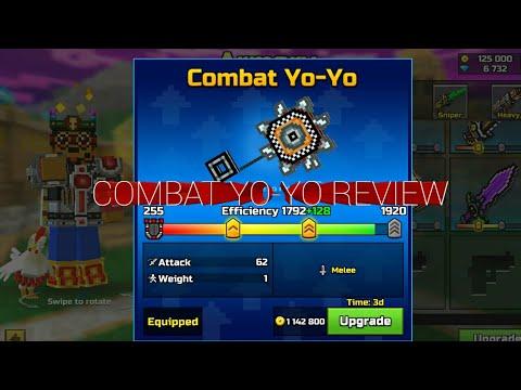Pixel Gun 3d Combat Yo Yo Review Youtube
