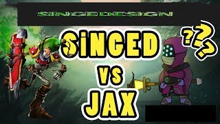 West ilk 10 Maç l Unranked - Challenger l Singed vs Jax l