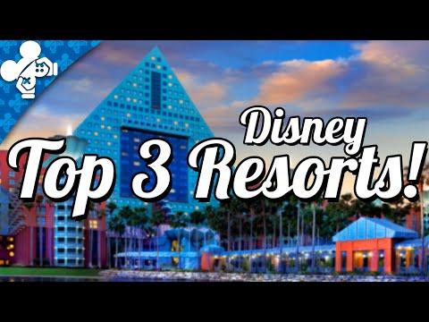 Best Disney Resorts! | Disney Top 3
