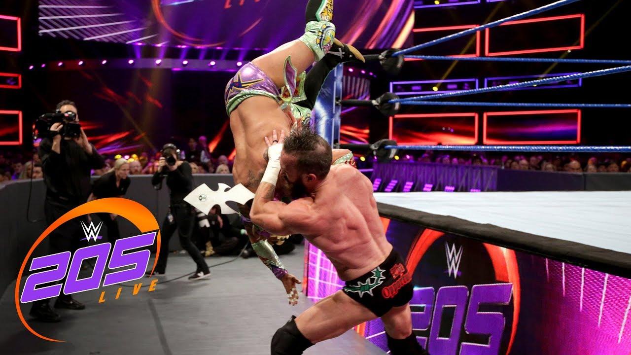 Kalisto vs. Mike Kanellis: WWE 205 Live, Jan. 29, 2019