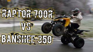Yamaha Banshee 350 vs. Yamaha Raptor 700R