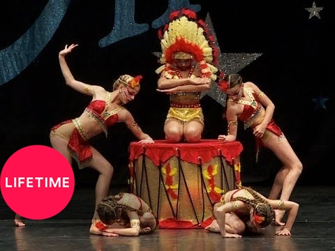 Dance Moms: Group Dance: Tribal Council (S4, E26) | Lifetime