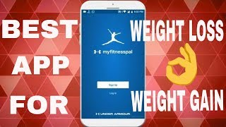 Best APP for weight loss MyFitnessPal
