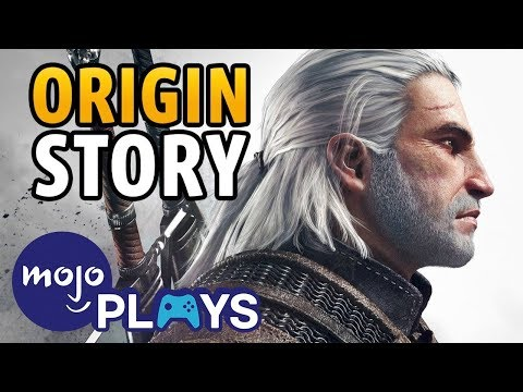 Origins of Geralt of Rivia - The Witcher&39;s White Wolf