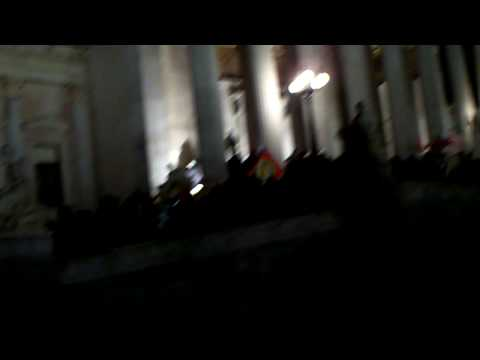 Vienna: Students demonstrate against University System (Parliament Occupation)