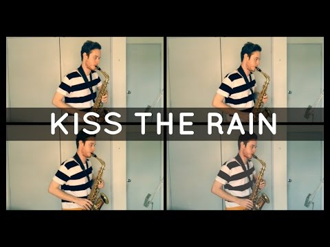 Kiss The Rain - Yiruma (Alto Sax Quartet) w/Sheet Music