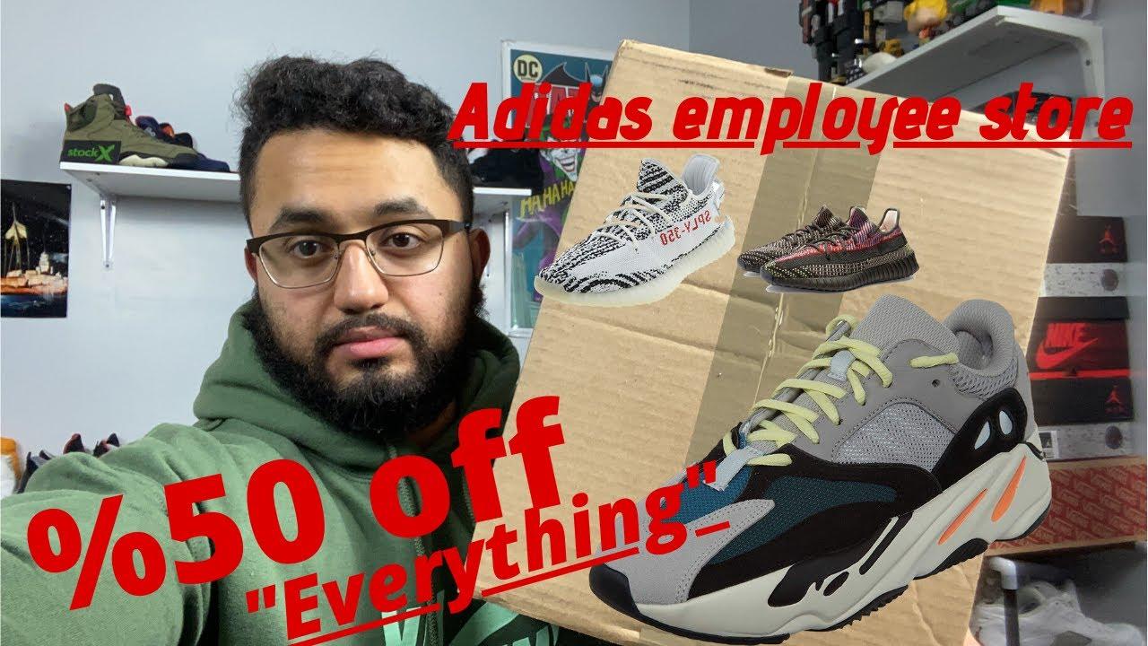 Adidas employee Store #2 ( Everything