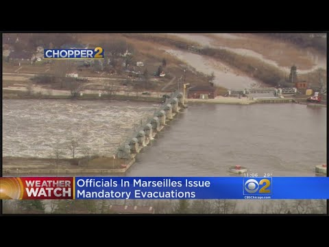 Marseilles Orders Evacuations Over Flooding Threat From Illinois River
