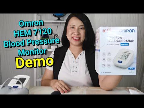 omron-blood-pressure-monitor-hem-7120---how-to-use