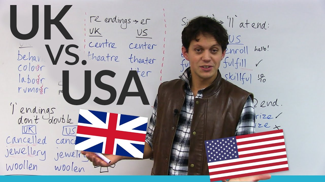 Differences Between American British Spelling YouTube - 63 key differences between british and american english