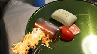 1000 DEGREE STEEL ROLLER VS SILLY PUTTY AND SOAP!