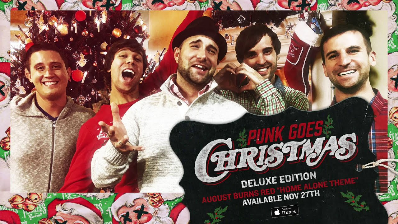 punk goes christmas august burns red home alone theme - Home Alone Christmas Movie