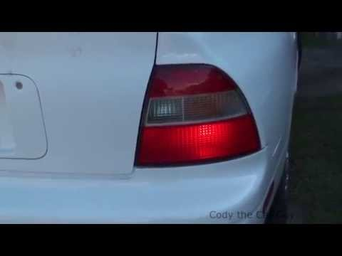Honda brake lights staying on simple and easy fix