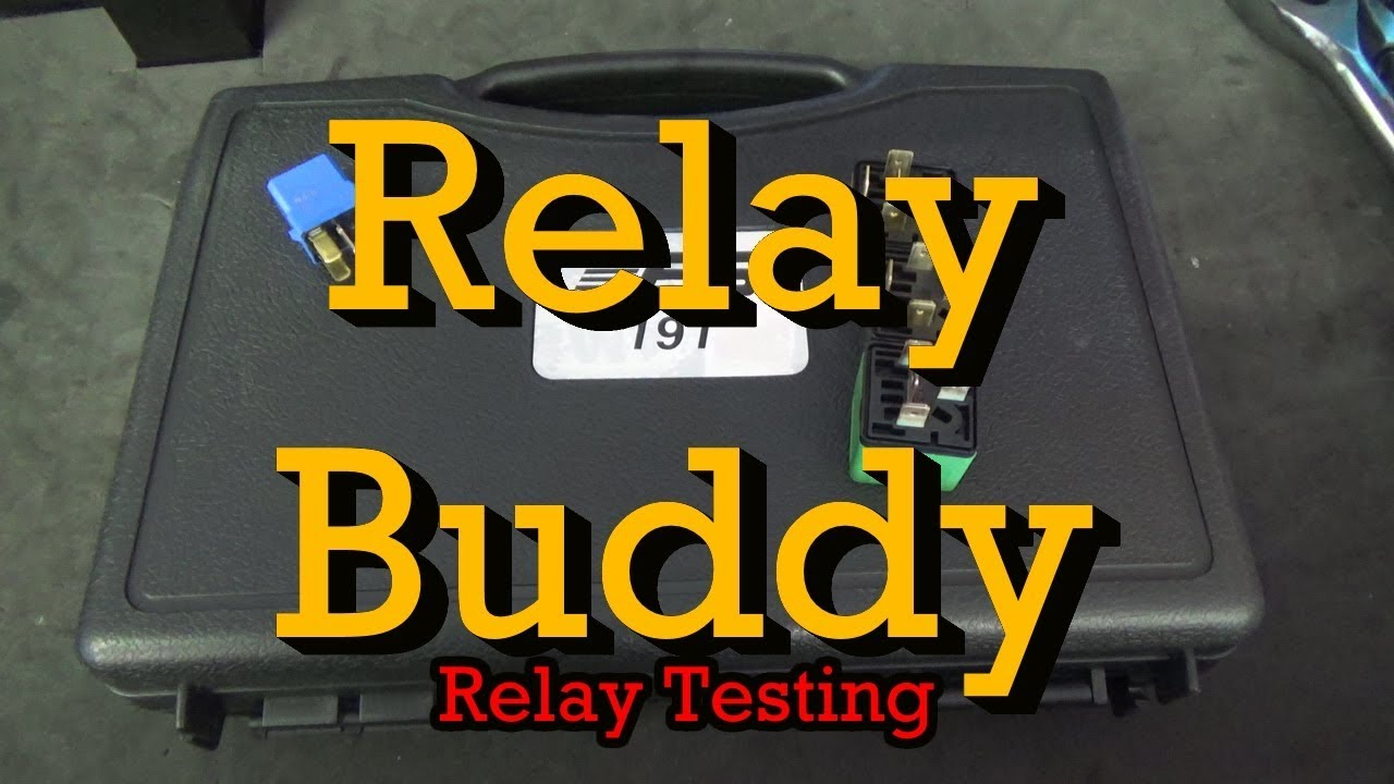 Relay Testing Using A Relay Buddy Youtube