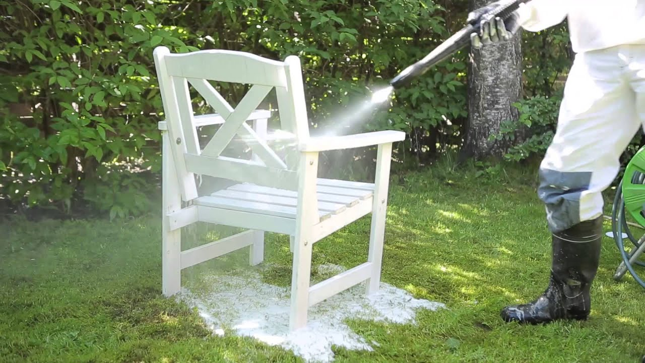 how to paint outdoor furniture tikkurila