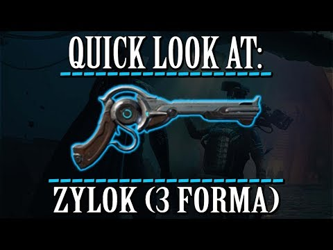 Warframe - Quick Look At: Zylok (3 Forma) thumbnail