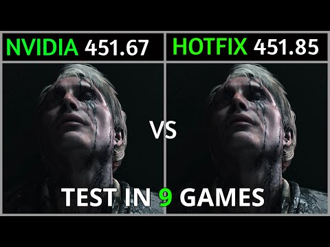 Nvidia Drivers 451.67