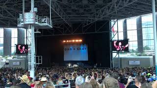 Dan + Shay - Alone Together at Budweiser Stage Back to Us Tour Aug 16 2018