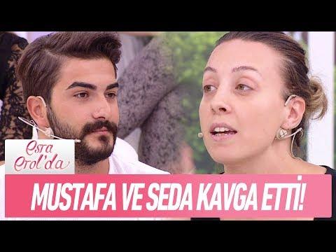 Mustafa ve Seda kavga etti!