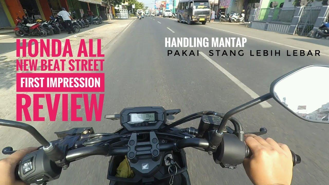 All New Honda Beat Street ESP 2017 First Impression Review Test