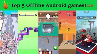 Top 5 Offline Android  Games (Portrait mode)