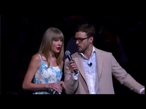Taylor Swift and Justin Timberlake Perform at Walmart!