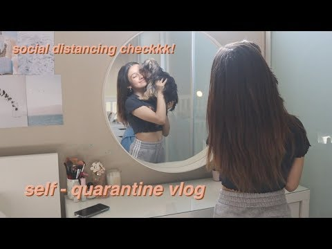Quarantine Vlog | School Routine, Room Tour And Spring Clean With Me SOPHIE MICHELLE