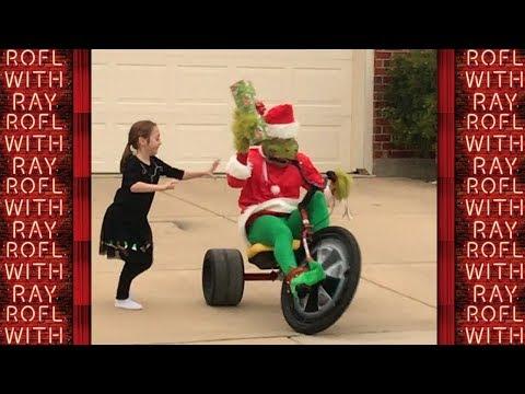 THE GRINCH Who TERRORIZES Small Children  Christmas Prank