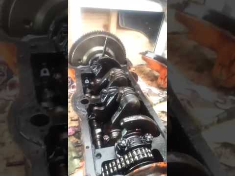 Fordson E83w engine rebuild