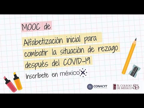 """Trailer """"MOOC de Alfabetización inicial para combatir la situación de rezago después del COVID - 19"""""""